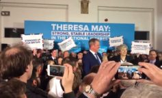 People have noticed something very odd about Theresa May's latest campaign rally [TWEETS]