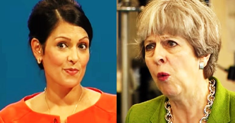 As we all watched Priti Patel, a highly influential think tank put us on recession red alert [IMAGES]
