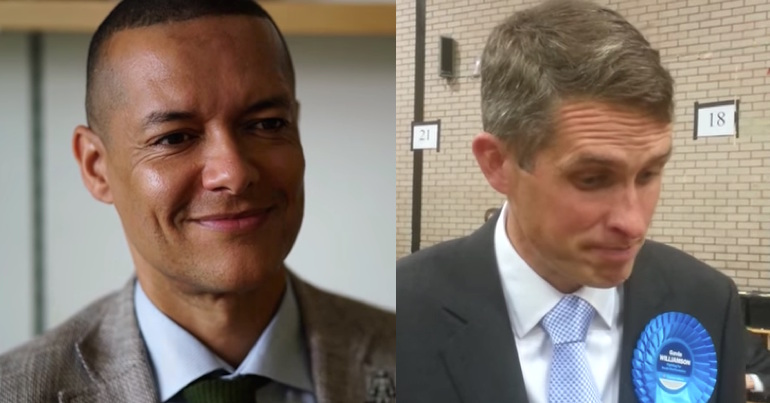 Clive Lewis and Gavin Williamson