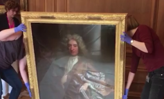 Bristol's new lord mayor takes down the portrait of a slave trader from her office
