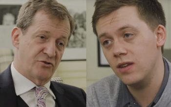 Alastair Campbell comes under fire for his magazine's 'homophobic' depiction of Owen Jones