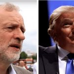 Jeremy Corbyn and Donald Trump