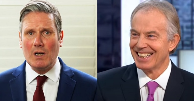 Keir Starmer And Tony Blair