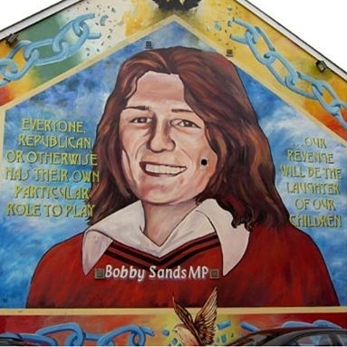 Bobby Sands and Margaret Thatcher