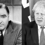 Joseph McCarthy and Boris Johnson both attacking the left wing