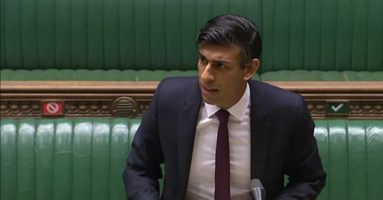 Chancellor Rishi Sunak delivers 2021 budget