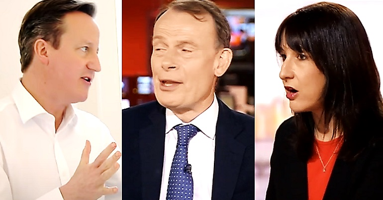 David Cameron Andrew Marr and Rachel Reeves