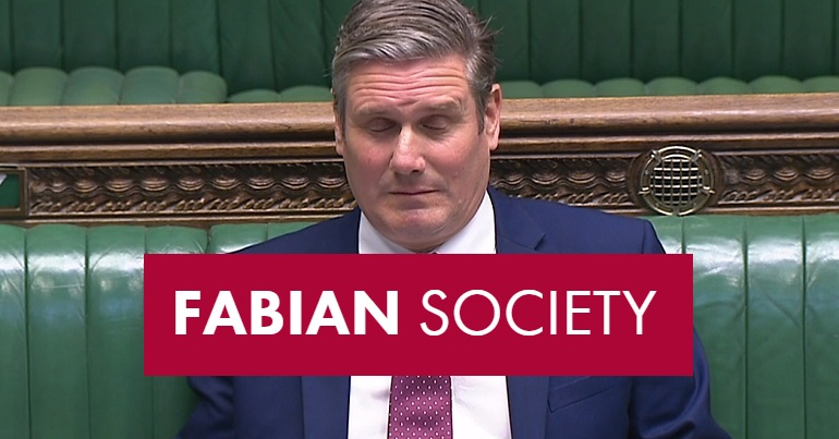 Keir-Starmer and the Fabians logo