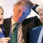 Boris Johnson James Dyson and Jo Johnson
