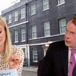 Downing Street Sophy Ridge Andrew Marr and Laura Kuenssberg